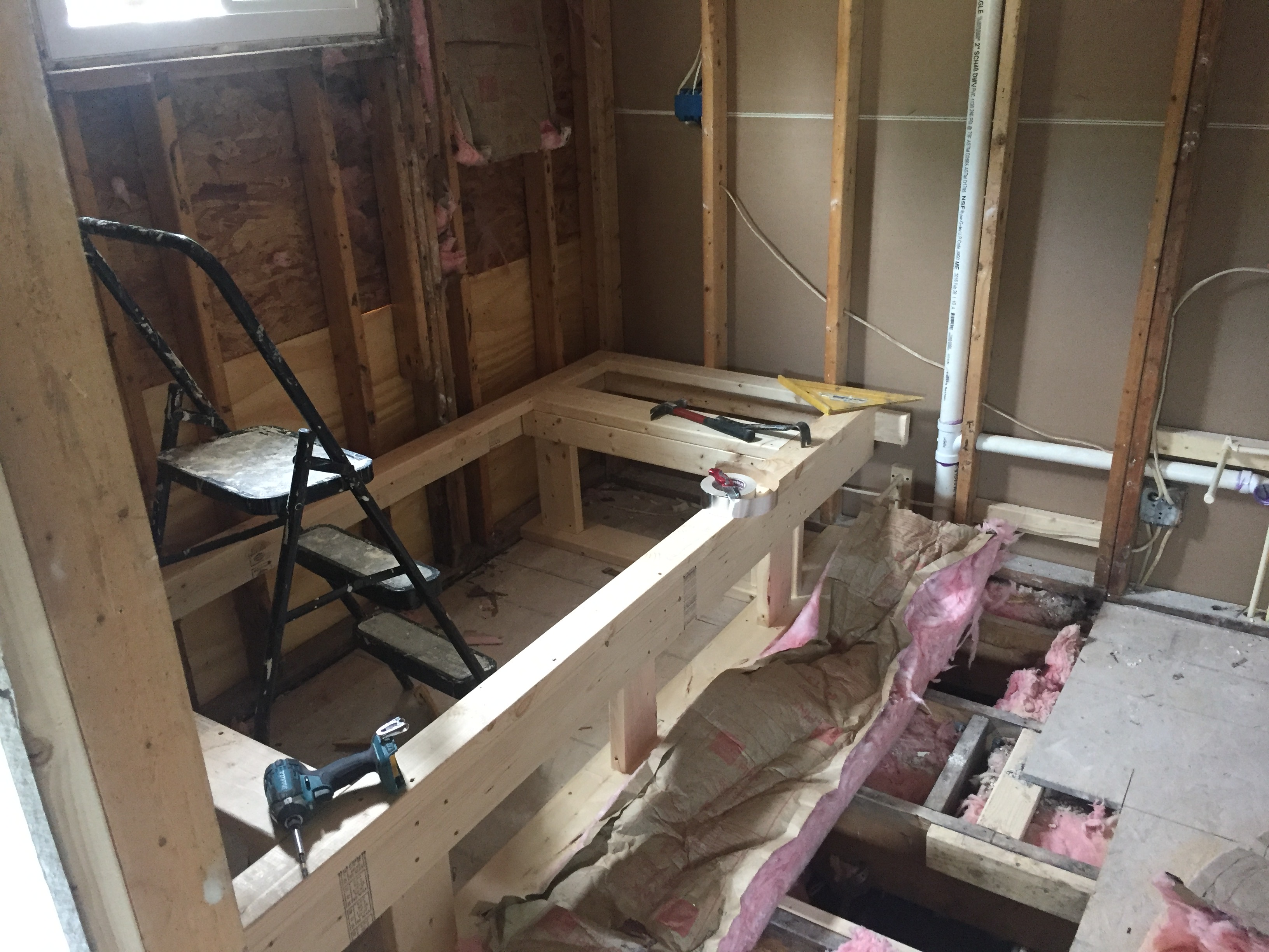 Process of Bathroom remodeling