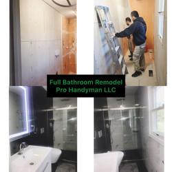 Full Bathroom Remodel in Baltimore
