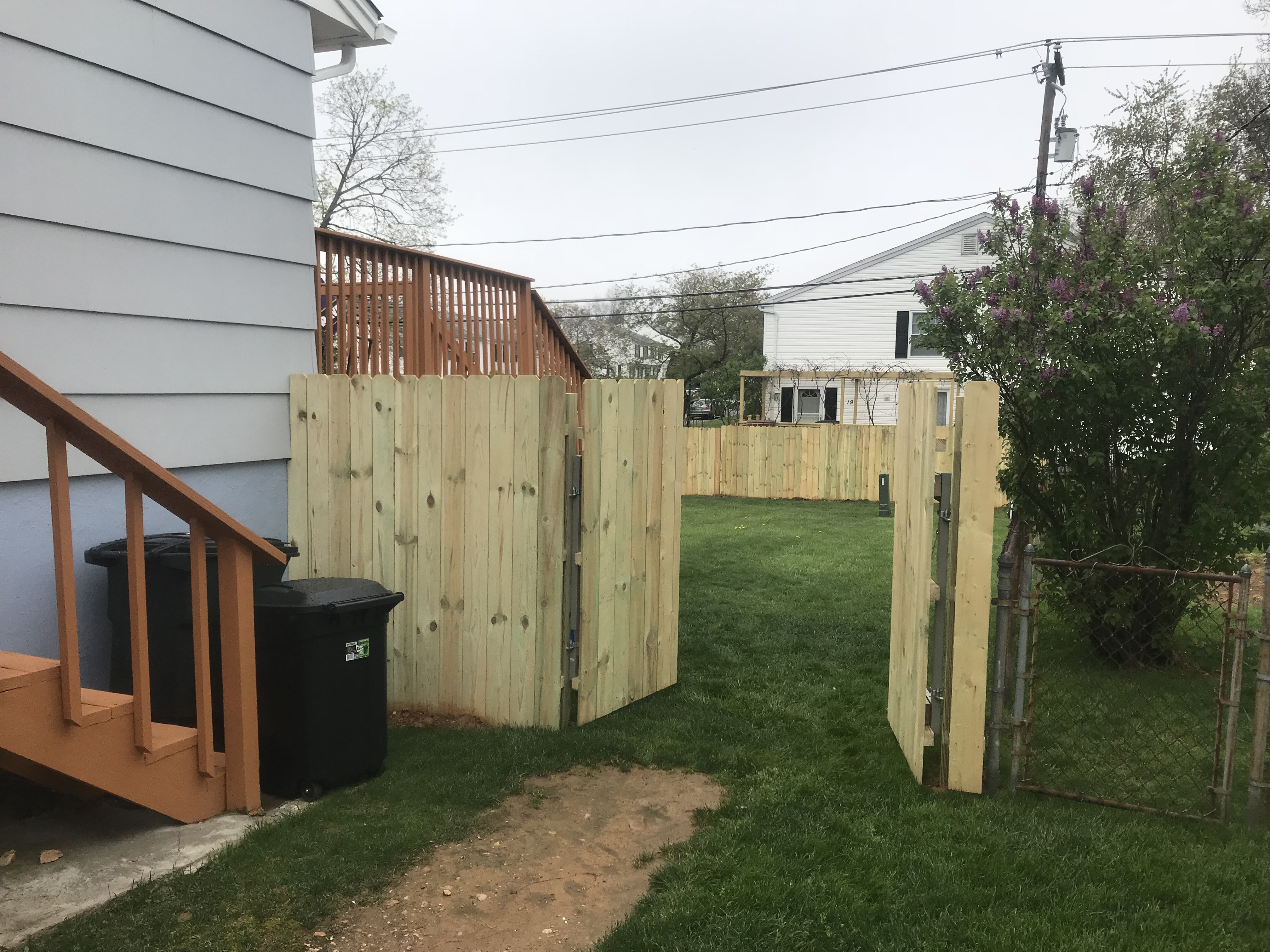 Private Fence Installation