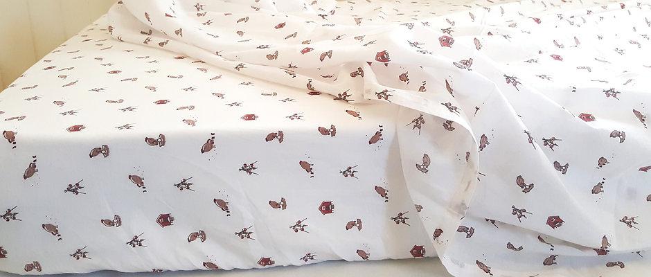 Happy Hens Cot Bedding Set