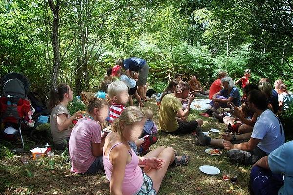 picknick, pick nick, eten, groep