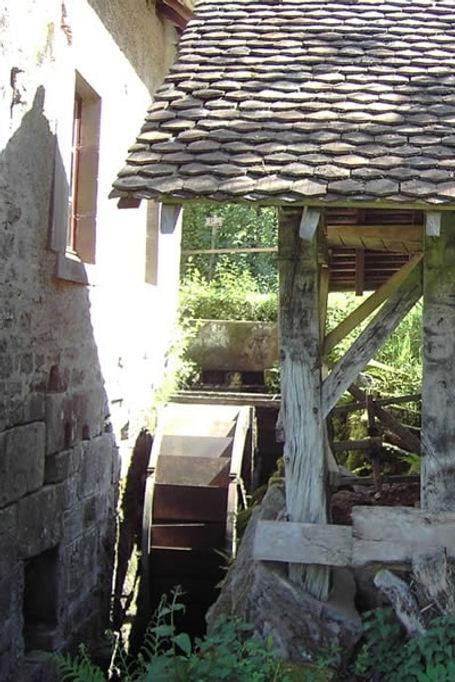 Watermolen, molen, rad,