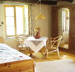 Gastenkamer, vakantie, rust, Frankrijk