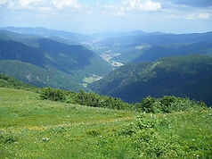 Vogezen, hoge vogezen, balon d'Alsace, Frankrijk