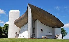 Ronchamps, Kapel Notre Dame du Haut, chapelle du corbusier
