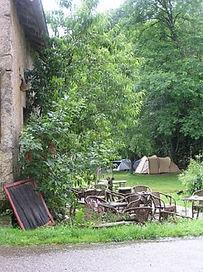 camping, kamperen, kleine camping, terras, vakantie