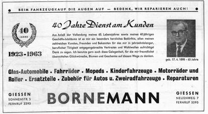 Bornemann wird 40