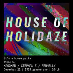 House of Holidaze final flier-01