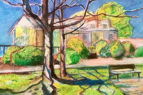 Regency Houses ~ Giclee Print