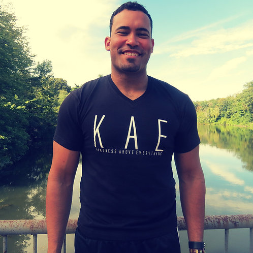 MEN's KAE logo tee