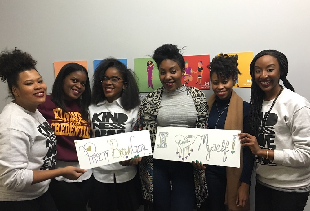 From left: Felicia, Rae-Ann, Alicia, Monet, Kayla, and Marvelyn
