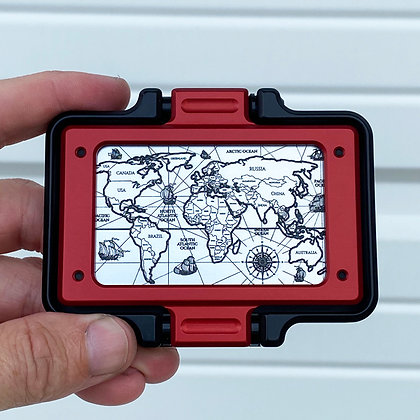 WORLD MAP (COMPLETE WALLET)
