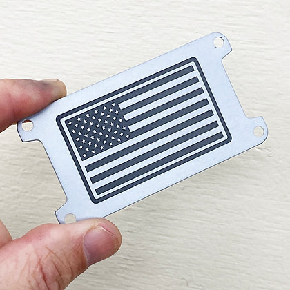 US FLAG  (PLATE ONLY)