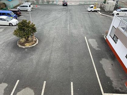 ビジネスホテルしょうや六ケ所店駐車場