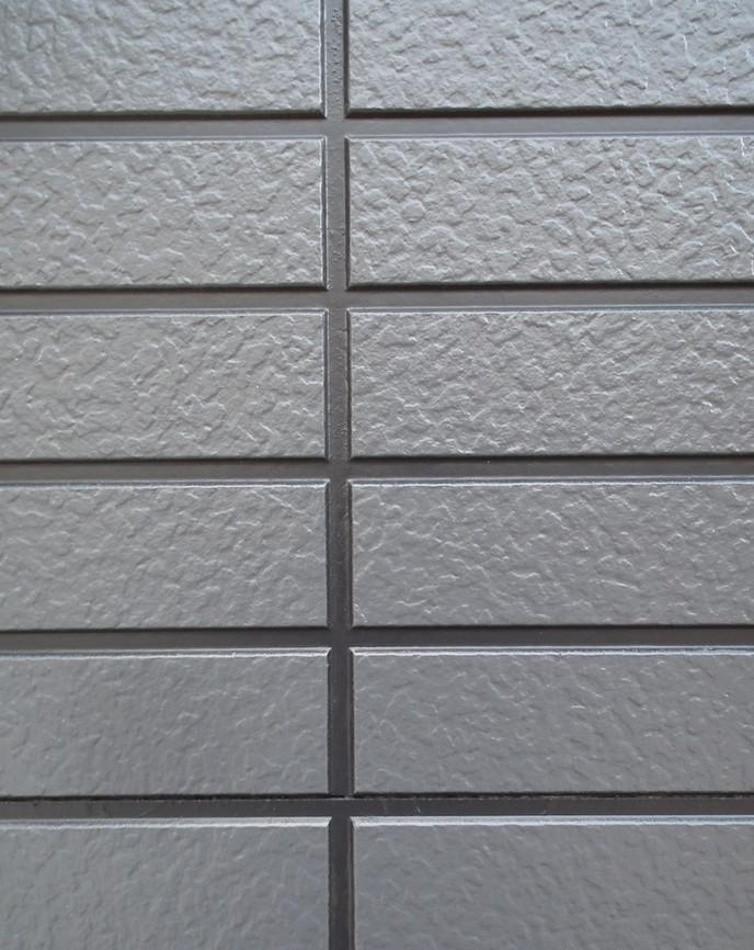 ナノグラスコート施工後壁拡大