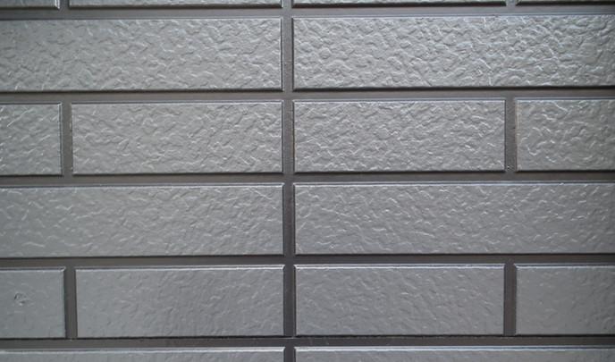 ナノグラスコート施工後外壁拡大