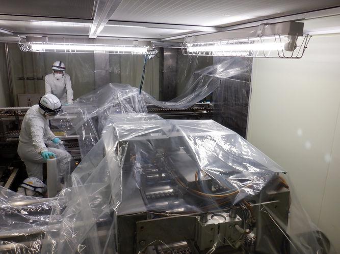 新潟空調株式会社の作業風景