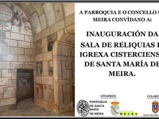 Finaliza la restauración de La Sala de las Reliquias de Meira