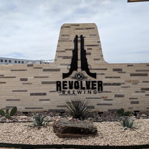 Revolver Brewing Exterior Sign