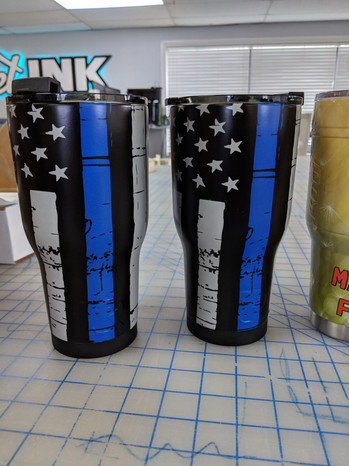 Wrapped Yeti Cup