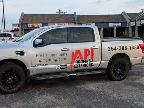 API Truck Decals