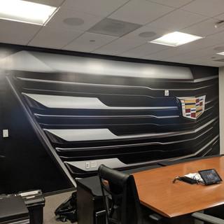 Cadillac Wall Wrap