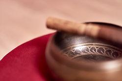 Meditation, Klangschale, Entspannung und Ruhe