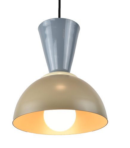 Maria 6in with replaceable LED bulb included, 3000k, 7w, 650 lumen