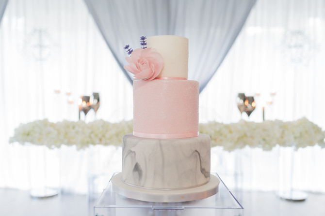 The Little Cake Company 3 tier cake