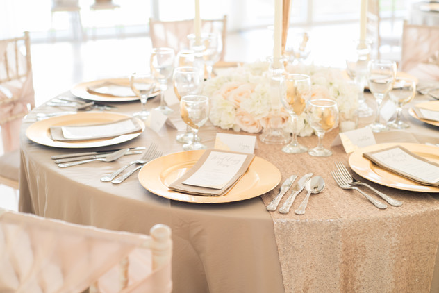 Lavish Floral Package Place Settings