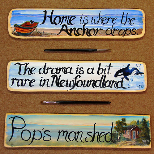 #85 Hand-Painted Signs