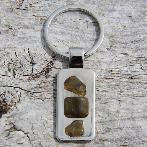 #95 Labradorite keychains