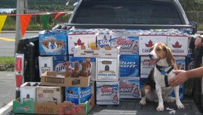 Recycling Bottle Drive for Beagles