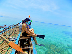 Snorkeling..