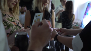 Sydney Magician performing at corporate event