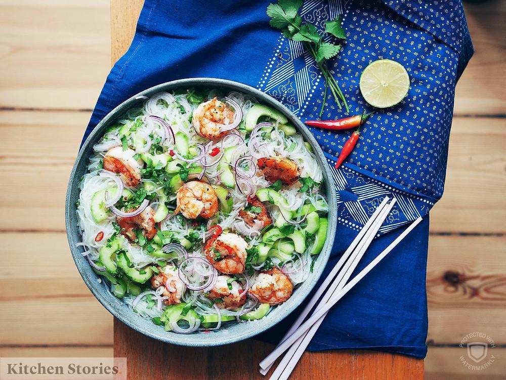 Salad Miến kiểu TRung Hoa