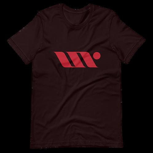 UNR - 1 - Black/Red - Short-Sleeve Unisex T-Shirt