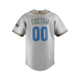 UCLA (Grey) - Baseball Jersey - back1.jp