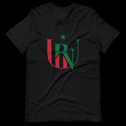 UNR - 4 - Black/Green/Red - Short-Sleeve Unisex T-Shirt