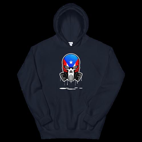 Puerto Rican Unisex Hoodie (Navy Blue)
