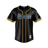 UCLA (Black) - Baseball Jersey - front1.
