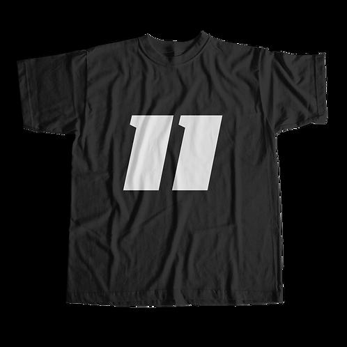 11 T-Shirt (Black) - Short-Sleeve Unisex