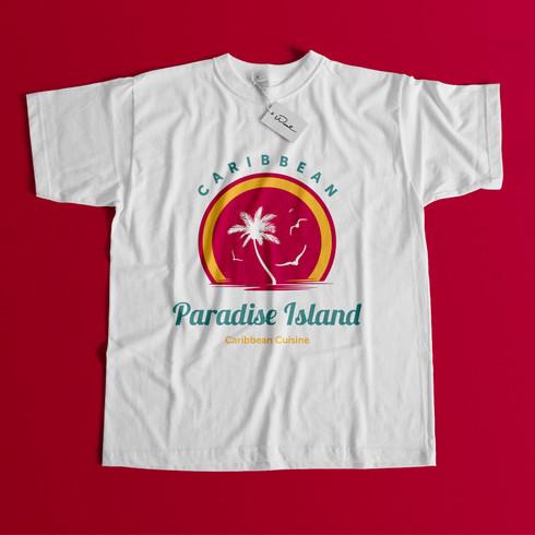 Paradise Island Caribbean Cuisine - tee.