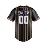 Suns (Stripes) - Baseball Jersey - back1