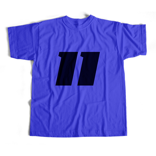 11 Shirt (Blue) - Short-Sleeve Unisex