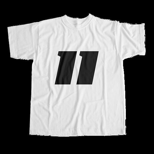 11 Shirt (White) - Short-Sleeve Unisex