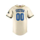 UCLA (Cream) - Baseball Jersey - back1.j