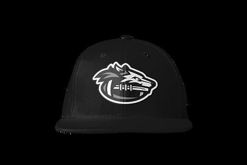 Night Wolves Snapback Hat - Black