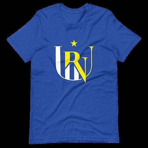 UNR - 4 - White/Blue/Yellow - Short-Sleeve Unisex T-Shirt