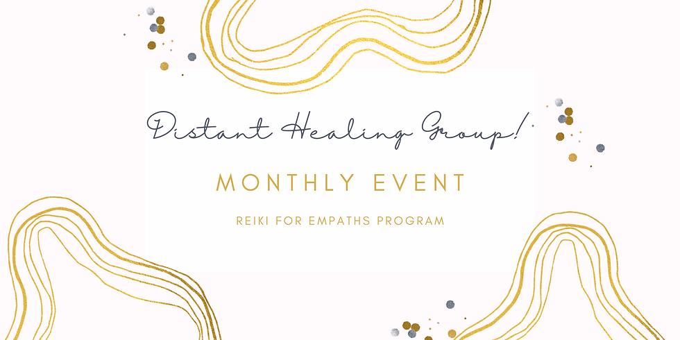 Distant Healing Group! - Reiki for Empaths Program Members